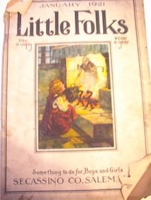 Little Folks Magazine1/1921 Theodora Zanes, J.Bruce