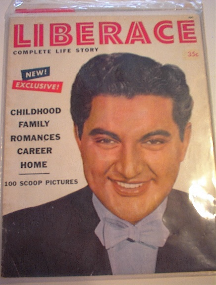 Liberace Complete Life Story Magazine,1954