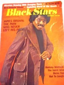Black Stars Magazine,11/74,JAMES BROWN cover