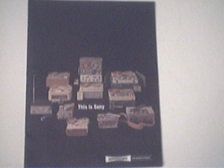 c1970 Sony Superscope Catalog