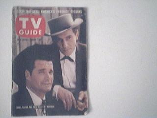 TV Guide,1/17/59,Jame Garner/Jack Kelly cover