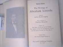 The Writtings of Abraham Lincoln Vol.3