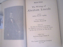 The Writtings of Abraham Lincoln Vol.4