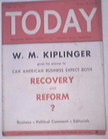 TODAY National Weekly,RECOVERY and REFORM?