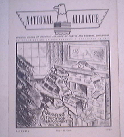 National Alliance Postal and Federal Mag,1968