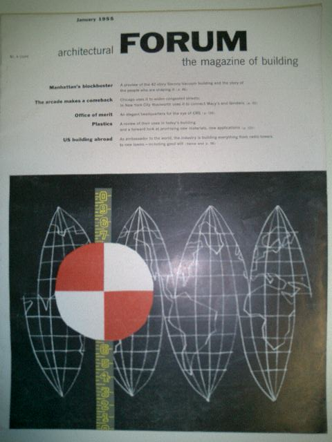 Architectural Forum January 1955 US Building Abroad