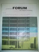 Architectural Forum May 1955 Philip Johnson