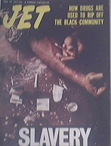 JET 8/10/1972 Drug Use in the Black Community Cover