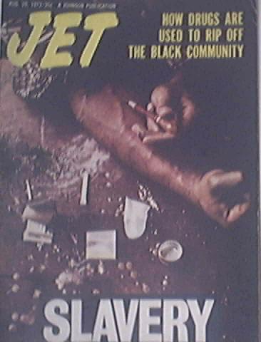 JET 8/10/1972 Drug Use in the Black Community Cover