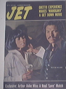 JET 10/9/1975 Diana Ross and Billy Dee Williams cover