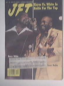 JET 12/14/1978 Barry White and Isaac Hayes cover
