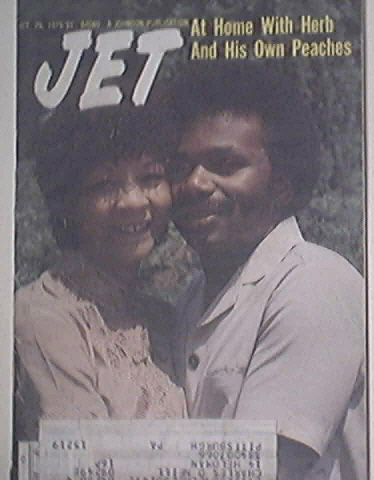 JET 10/25/1979 Herb and Yvonne Feemster cover