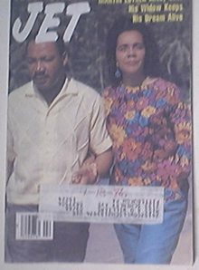 JET 1/20/1986 Martin Luther King Jr andWife Cover