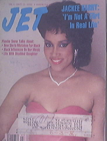 JET 7/9/1986 Jackee Harry cover Phoebe Snow