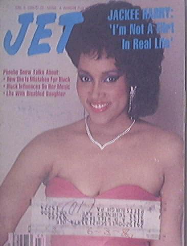 JET 7/9/1986 Jackee Harry cover Phoebe Snow