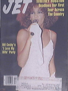 JET 9/1/1986 Whitney Houston Cover