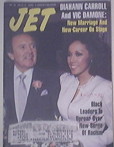 JET 1/26/1987 Diahann Carroll and Vic Damone Cover