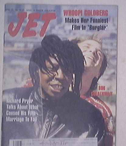 JET 4/20/1987 Whoopi Goldberg and Bob Goldthwait cov