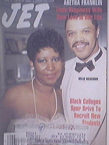 JET 4/27/1987 Aretha Franklin and Willie Wilkerson cove