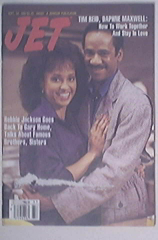 JET 9/14/1987 Tim Reid and Daphne Maxwell cover