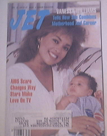 JET 9/28/1987 Vanessa Williams and Baby cover
