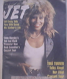 JET 10/19/1987 Tina Turner cover