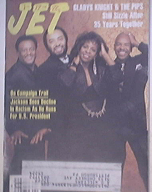JET 1/25/1988 Gladys Knight & The Pips cover