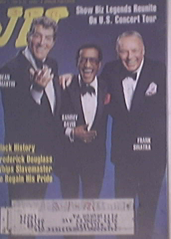 JET 3/7/1988 Martin, Davis, Sinatra The RAT Pack cover