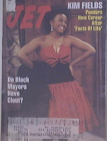 JET 5/2/1988 Kim Fields cover