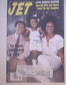 JET 5/9/1988 Jayne Kennedy Overton cover