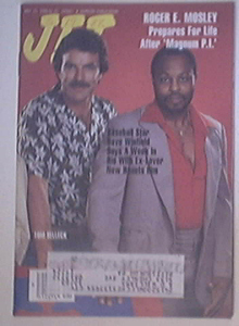 JET 5/23/1988 Roger E. Mosley and tom Selleck cover