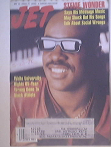 JET 5/30/1988 Stevie Wonder cover