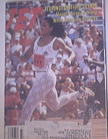 JET9/12/1988 Florence Griffith Joyner cover