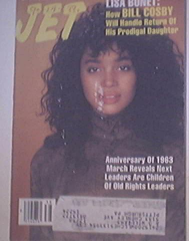 JET 9/19/1988 the Beautiful Lisa Bonet cover