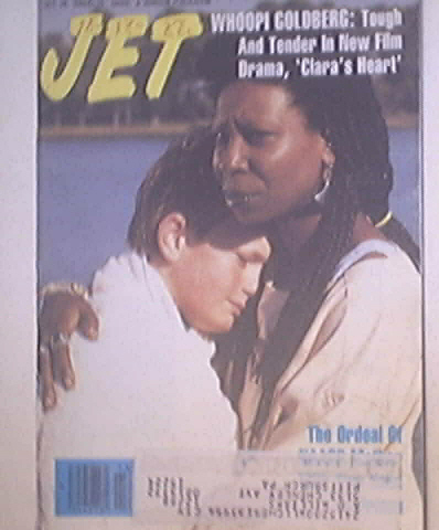 JET 10/24/1988 Whoopi Goldberg 'Clara's Heart'cover