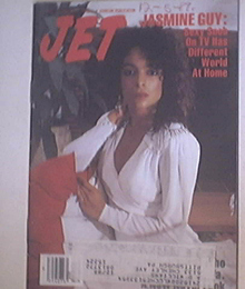 JET 12/12/1988 The Beautiful Jasmine Guy cover