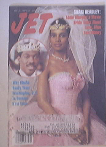 JET 8/22/1988 Shari Headley and Eddie Murphy Cover