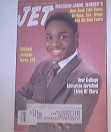 JET 8/29/1988 Malcolm Jamal Warner cover