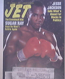 JET 12/5/1988 Sugar Ray Lenord Boxing Cover