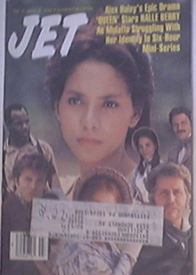 JET 2/15/1993 Halle Berry 'Queen' Cover