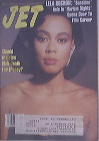 JET 4/9/1990 Lela Rochon cover