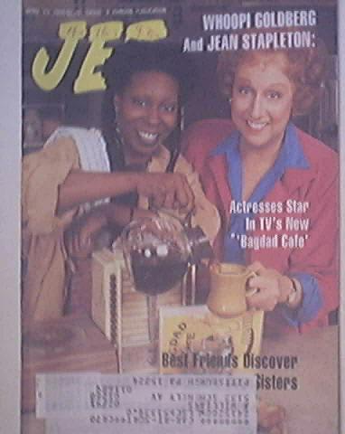 JET 4/23/1990 Whoopi Goldberg and Jean Stapleton cov