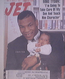 JET 6/25/1990  Mike Tyson and Son D'Amato Tyson Cov