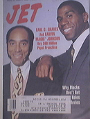JET 8/20/1990 Earl G. Graves and Magic Johnson cover