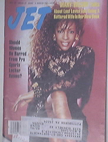 JET 10/29/1990 the Beautiful Mary Wilson Cover