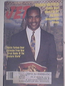 JET 11/19/1990 Evander Holyfield cover