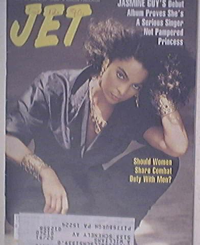 JET 12/17/1990 The Beautiful Jasmine Guy Cover