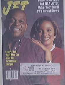 JET 3/30/1992 Charles Dutton and Ella Joyce Cover