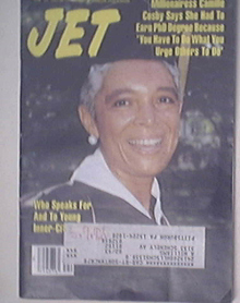 JET 6/15/1992 Camillen Cosby Cover