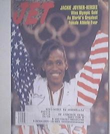 JET 8/24/1992 Jackie Joyner Kersee cover